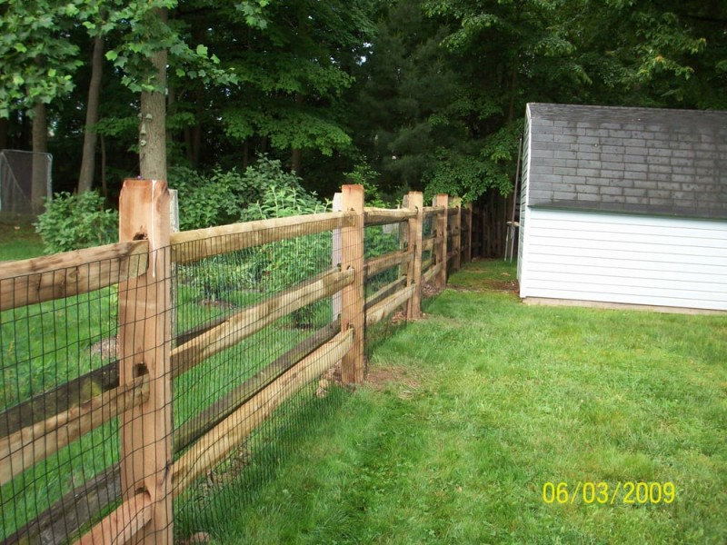 via Abbey Fence & Deck - 27 Cheap DIY Fence Ideas For Your Garden, Privacy, Or Perimeter
