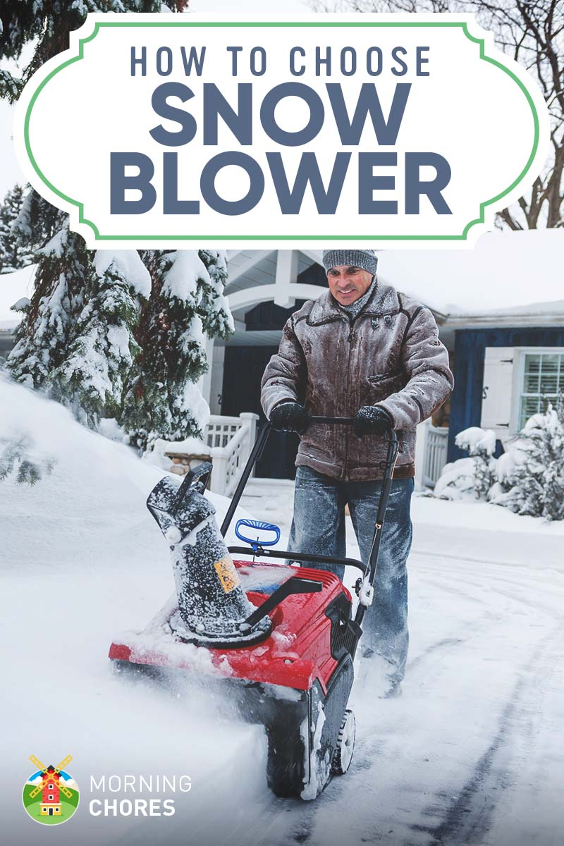 Choosing a snow blower for home or garden 95