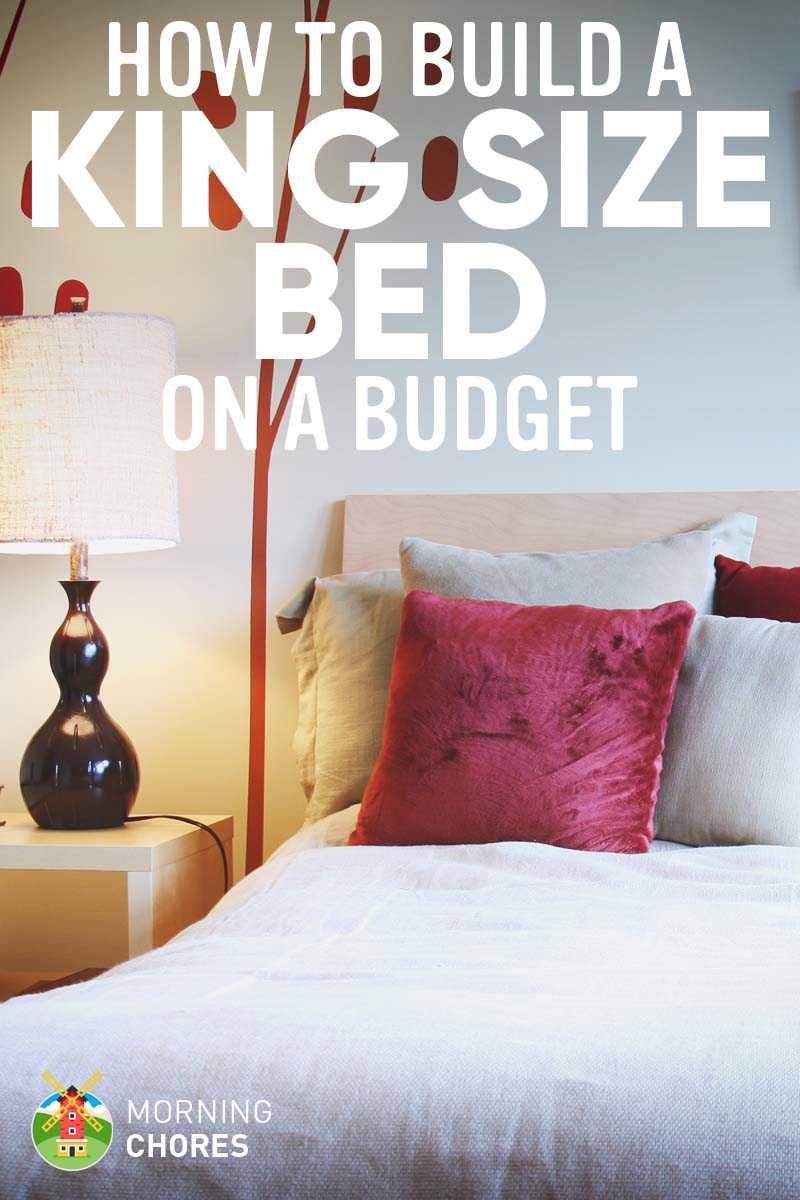 How We Make A DIY King Size Bed Frame On Budget In 8 Easy Steps
