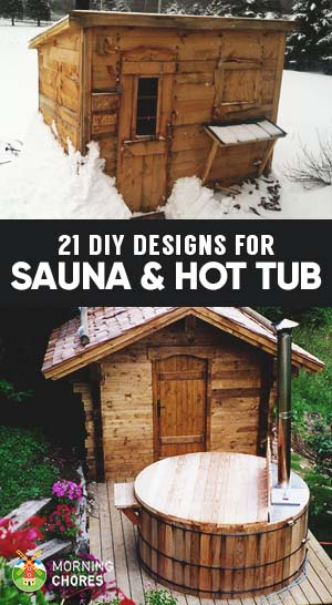 Backyard Sauna Plans 21 inexpensive diy sauna and wood-burning hot tub design ideas