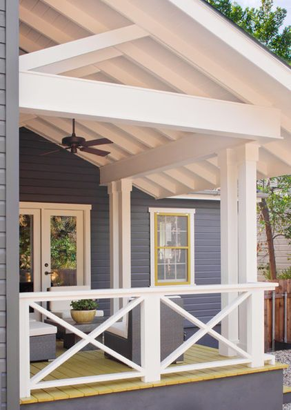 Front Steps Railing Home Design Ideas Pictures Remodel And Decor: 32 DIY Deck Railing Ideas & Designs That Are Sure To Inspire You