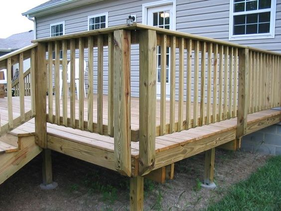 32 diy deck railing ideas designs that are sure to inspire you so you are building a new deck you want it to look traditional with only a slightly different look from the usual solutioingenieria Image collections