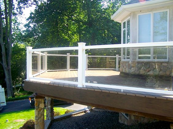 Are You Afraid That Your Deck Railing Will Hinder View While Sitting Down On The