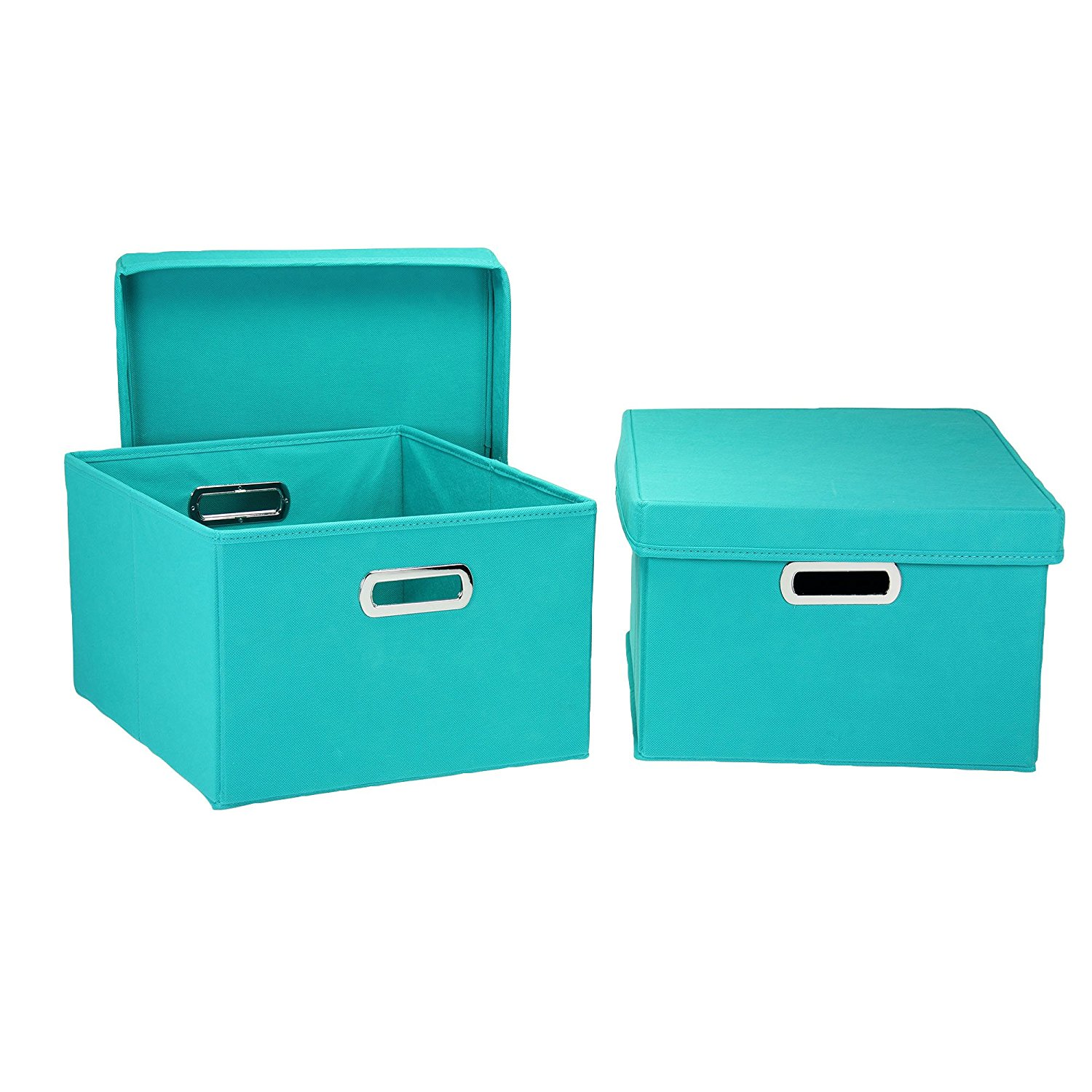 Merveilleux Household Essentials Fabric Storage Boxes