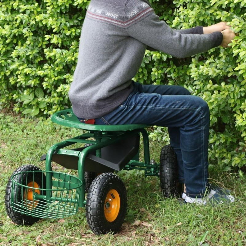 This Would Be A Great Gift For A Gardener Of Any Age. It Allows You To Sit  Down And Roll Along As You Work In The Garden.