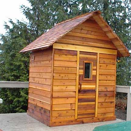 This Is Another Sauna Kit. It Too Says That It Includes The Heater As Well  With The Kit. It Appears That It Would Be Suitable For Most Any Home Design.