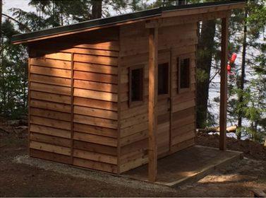 21 inexpensive diy sauna and wood burning hot tub design ideas. Black Bedroom Furniture Sets. Home Design Ideas
