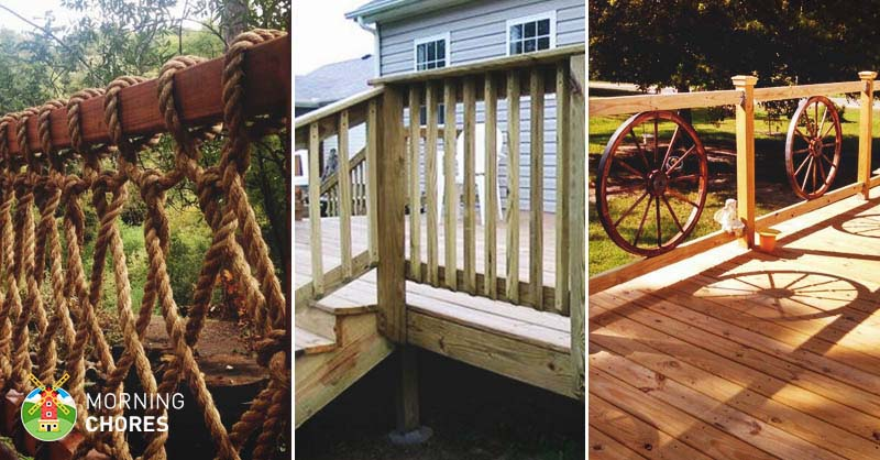 32 diy deck railing ideas designs that are sure to inspire you solutioingenieria Images