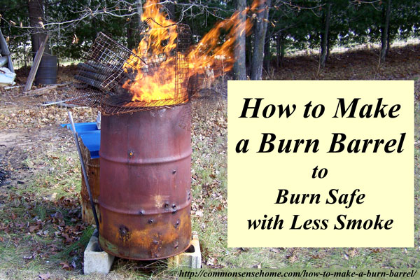 22 Unique Diy Burn Barrel Design Ideas For Decoration