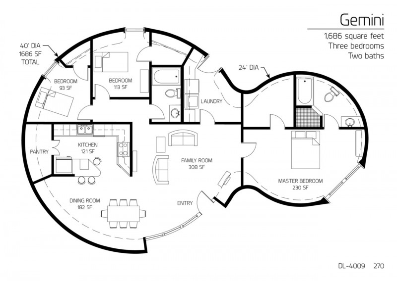 18 Beautiful Earthbag House Plans for A Budget-Friendly Alternative ...