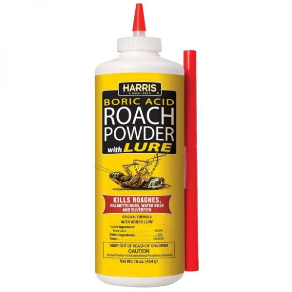 Harris Boric Acid Roach Powder With Lure