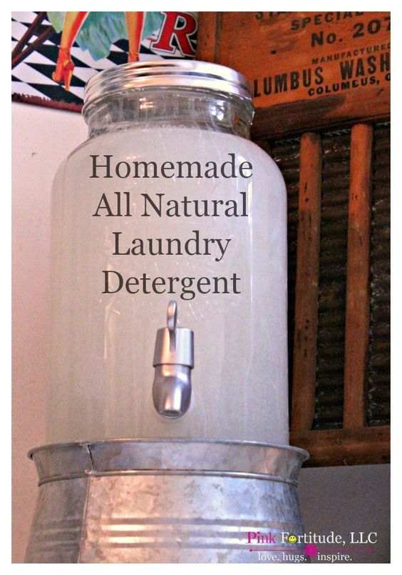 how to make powder laundry detergent