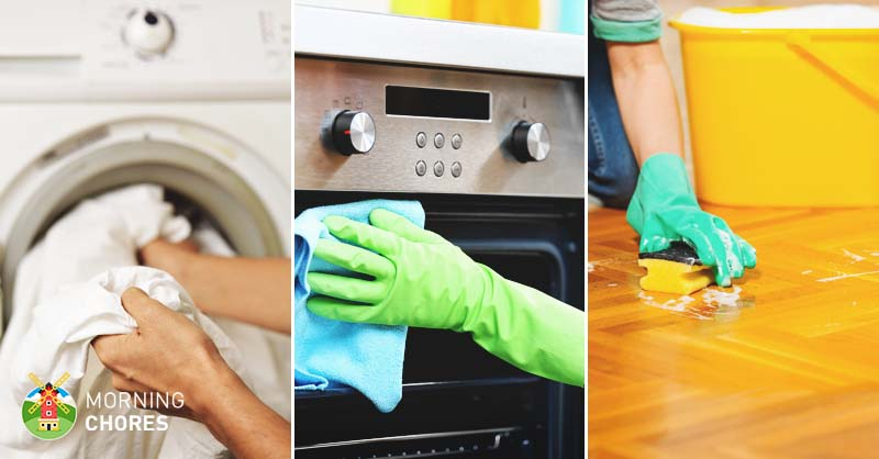 4 tips to create the perfect house cleaning schedule with examples