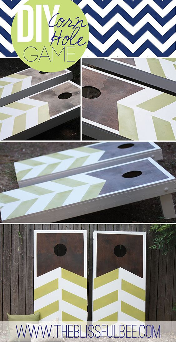 40 Creative Cornhole Board Plans That Will Amp Up Your Summer Page Unique Corn Hole Pattern