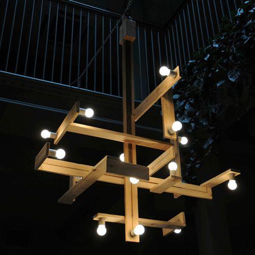3 the pallet chandelier