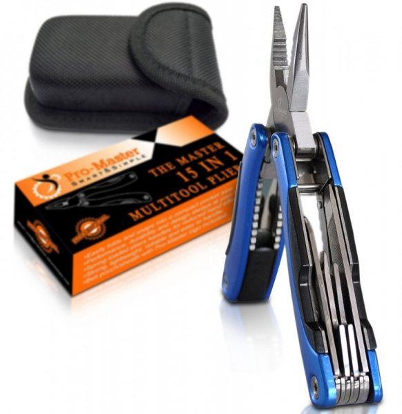 Pro Master 15 in 1 Multitool Pocket Knife