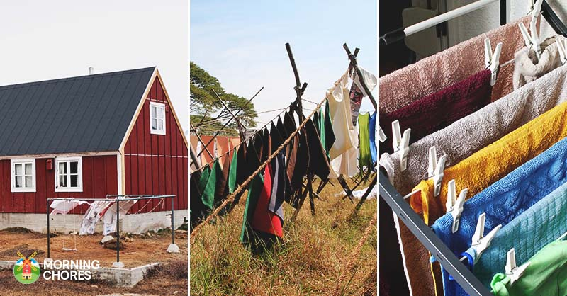 26 clothesline ideas to hang dry your clothes and save you money do you miss the old days solutioingenieria Gallery
