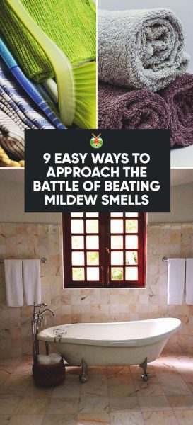 How To Get Rid Of Mildew Smell In Your House In Easy Ways - Mildew smell in bathroom