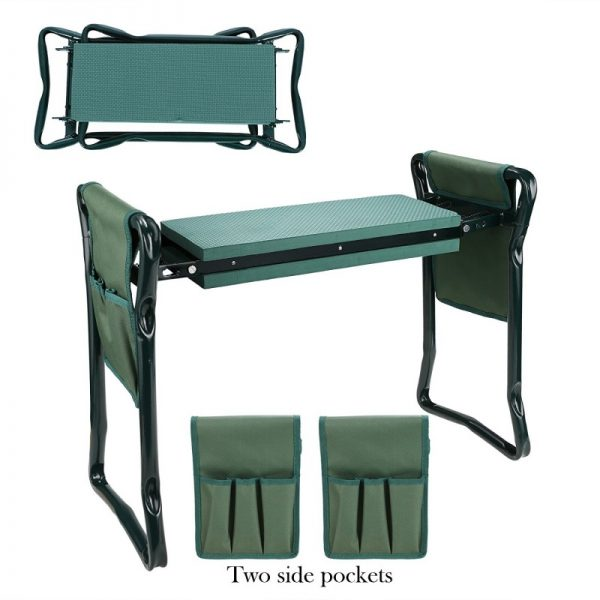 Homdox Folding Garden Kneeler Seat Bench