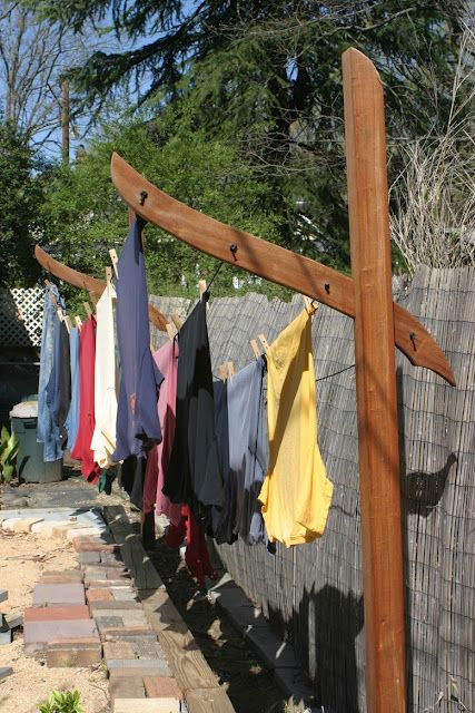How To Make A Clothesline Gorgeous 60 Clothesline Ideas To Hang Dry Your Clothes And Save You Money
