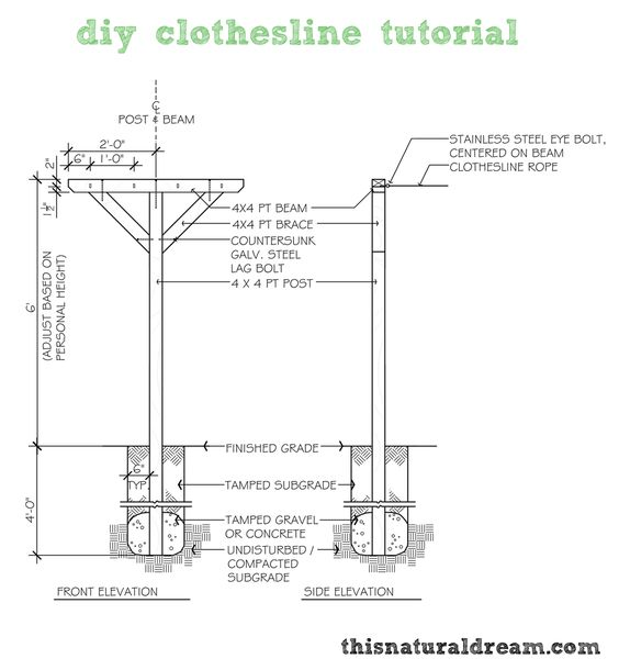 Clotheslines For Small Backyards 26 clothesline ideas to hang dry your clothes and save you money
