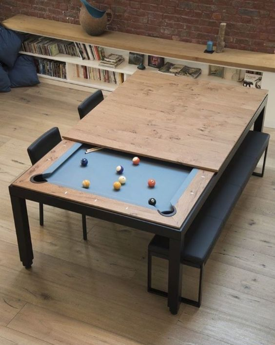 This Table Is Really Awesome. Especially If You Are Working With A More  Compact Man Cave Area.