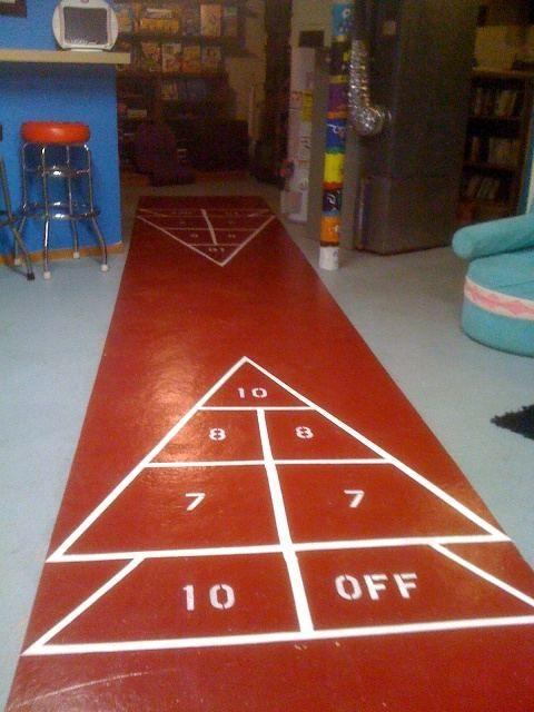 5. Shuffleboard Floors