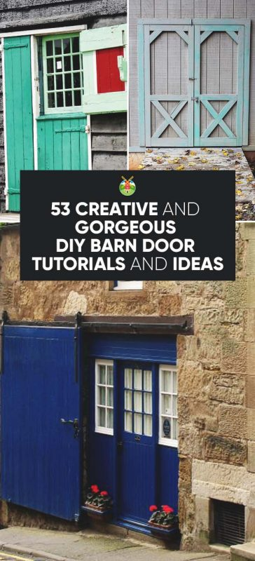 Great DIY Barn Door Ideas: