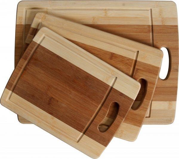 CC Boards 3-Piece Bamboo Cutting Board Set