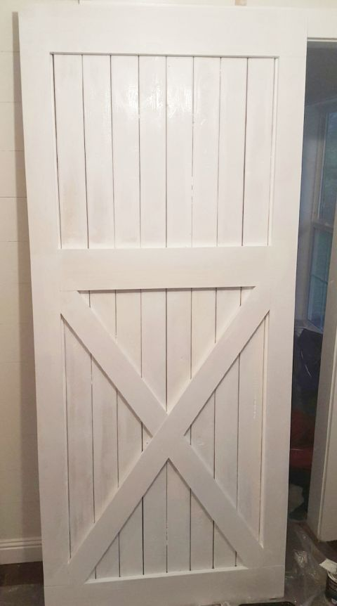 A Traditional Barn Door & 53 Creative and Gorgeous DIY Barn Door Plans and Ideas