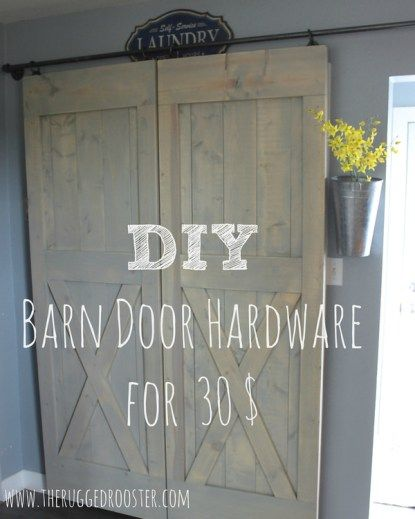 Creating The Barn Door Look Is A Great Idea For Most Homes, But It Can Get  A Little Pricey If You Donu0027t Do It Yourself.