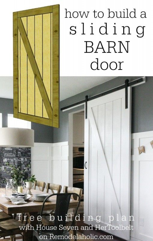 Gentil Simple DIY Barn Door Tutorial