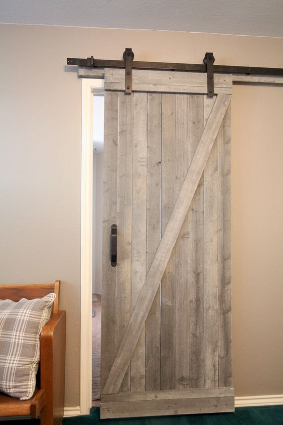 Exceptionnel This Is A Traditional Style DIY Barn Door. If You Are Looking For A Way To  Create This Magnificent Look In Your Own Home, Then Youu0027ll Want To Check  Out This ...