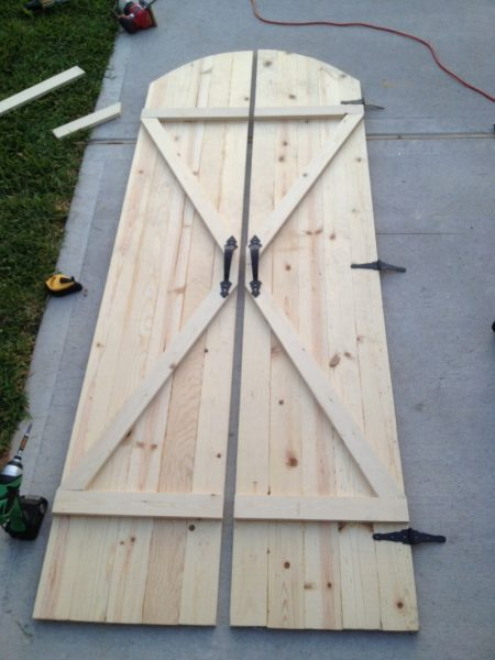 curved barn doors