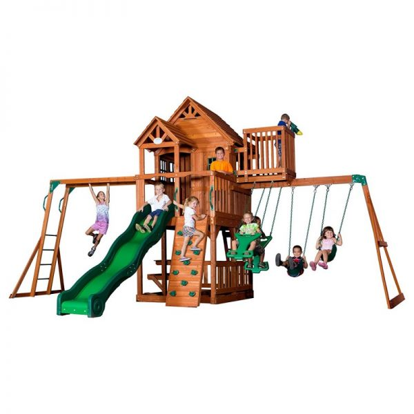 6 Best Swing Sets Create A Safe Backyard Playground Kids