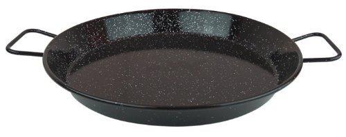 MageFesa Enameled Steel 18-inch Paella Pan