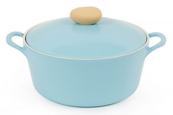Neoflam Retro 3-qt Covered Cast Aluminum Stock Pot
