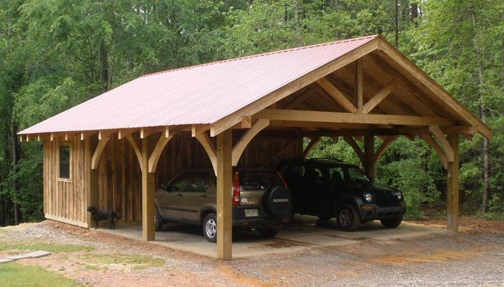 the pole barn carport