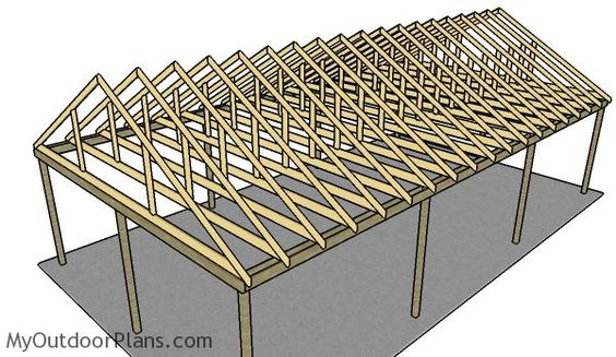 20 Stylish DIY Carport Plans That Will Protect Your Car from the ...