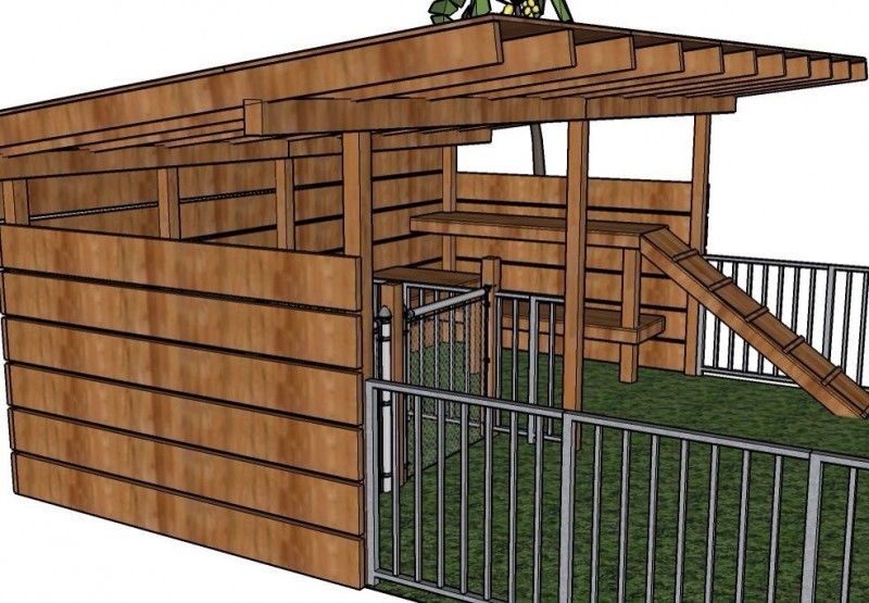 The Designed Goat Shelter