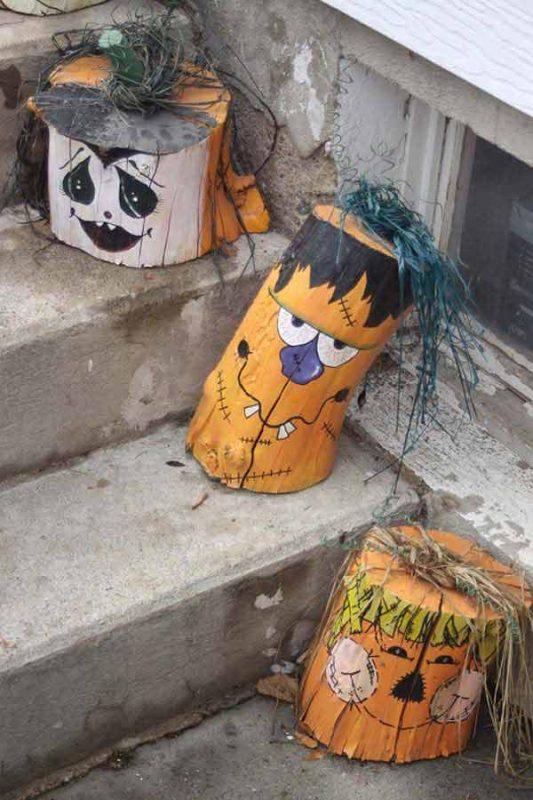 halloween log