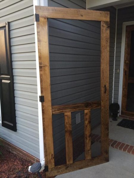 Superieur Handmade Screen Door