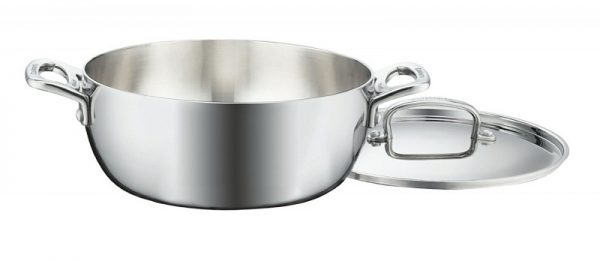 Cuisinart FCT3545-24 French Classic Stainless Steel 4-1:2-Quart Dutch Oven