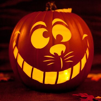 54 fantastic jack o lantern pumpkin carving ideas to inspire you if you would like to decorate or carve a pumpkin like the cheshire cat then youll love this template maxwellsz