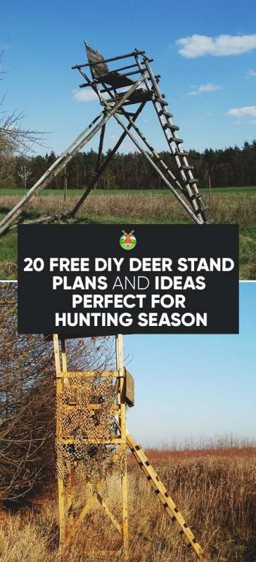 Tree Stand Designs Free : Free diy deer stand plans and ideas perfect for hunting
