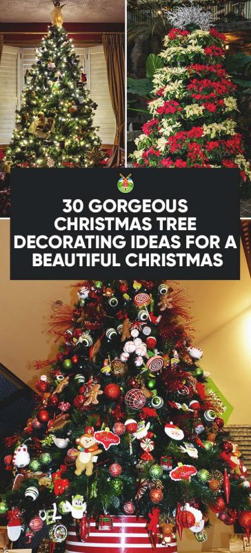 well im going to bring you some of the internets best christmas tree decorating ideas that way you can browse through them and find some inspiration for - Ways To Decorate A Christmas Tree