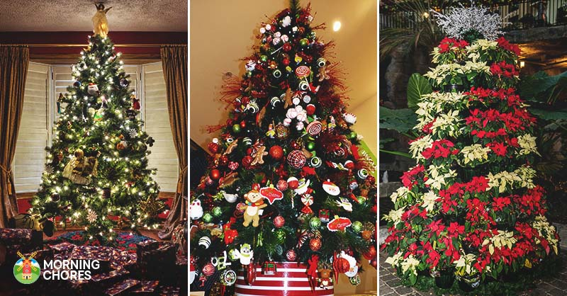 30 gorgeous christmas tree decorating ideas you should try this year - Unique Christmas Tree Decorations