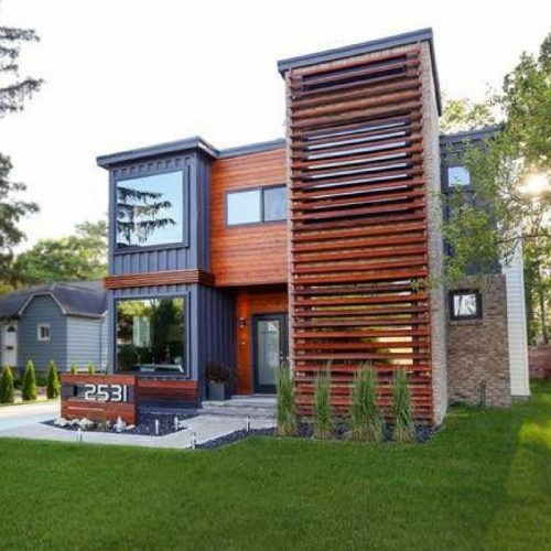 Container Home Design Ideas: 10 Amazing Shipping Container Home Designs To Make You Wonder