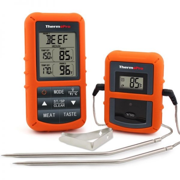ThermoPro TP20 Wireless Remote Digital Cooking Food Meat Thermometer with Dual Probe