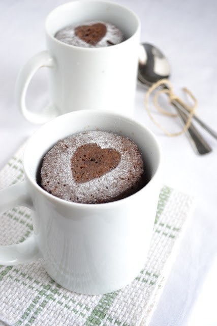 White Chocolate Wonderful Mug Cake